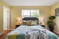 After Staging - Master Bedroom