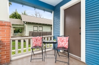 Staging The Nest - Vacant Home Staging - Front Porch