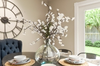 Staging The Nest - Vacant Home Staging - Dining Room Details