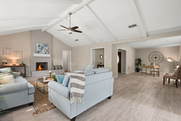 Staging The Nest - Vacant Home Staging - Living Room2