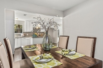 Vacant Home Staging - Staging The Nest - Dining Room