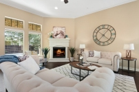 The Woodlands - Vacant Staging - Living Room