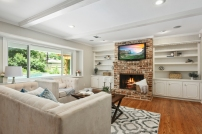 Staging The Nest - Vacant Home Staging - Living Room