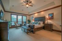 BlueMesa-MasterBedroom1 - Staging The Nest - Occupied Home Staging